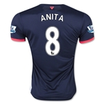 Newcastle United 15/16 ANITA Third Soccer Jersey