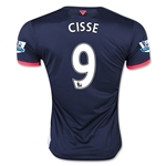 Newcastle United 15/16 CISSE Third Soccer Jersey