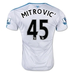 Newcastle United 15/16 MITROVIC Away Soccer Jersey