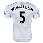 Newcastle United 15/16 WIJNALDUM Away Soccer Jersey