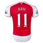 Arsenal 15/16 OZIL Youth Home Soccer Jersey