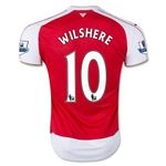 Arsenal 15/16 WILSHERE Youth Home Soccer Jersey