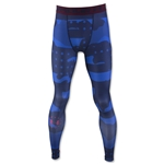 Under Armour HeatGear Freedom USA Compression Legging (Navy)