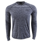 Under Armour Tech Patterned Long Sleeve T-Shirt (Black)