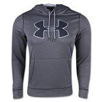 Under Armour Storm Armour Fleece Big Logo Hoody (Dk Grey)
