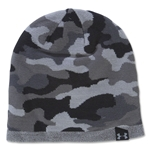 Under Armour Reversible Camo Beanie (Gray)