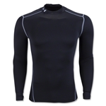 Under Armour ColdGear Armour Compression Mock Top (Black)