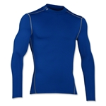 Under Armour ColdGear Armour Compression Mock Top (Blue)