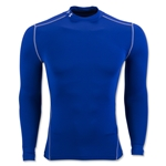 Under Armour ColdGear Armour Compression Mock Top (Royal)