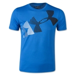 Under Armour Boys Rising Logo Glow-in-the-Dark Tech T-Shirt (Roy/Blk)