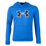 Under Armour Boys Storm Armour Fleece Big Logo Hoody (Roy/Blk)