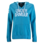 Under Armour Favorite Fleece Wordmark Hoody (Teal)