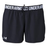 Under Armour Women's Play Up Short (Blk/Wht)