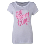 Under Armour Power in Pink Go Fight Cure T-Shirt (White/Pink)