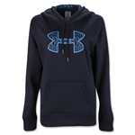 Under Armour Storm Armour Fleece Big Logo Women's Hoody (Blk/Royal)