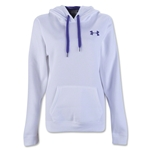 Under Armour Rival Fleece Pullover Hoody (Wh/Pu)