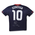 Landon Donovan Autographed Team USA Road Blue Jersey