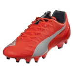 PUMA evoSPEED 4.4 FG (Lava Blast/White/Total Eclipse)