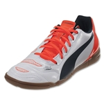 Puma evoPower 4.2 IT Junior (White/Lava Blast/Total Eclipse)