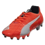 PUMA evoSPEED 1.4 FG Junior (Lava Blast/White/Total Eclipse)