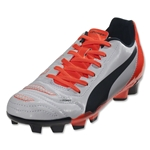 Puma evoPower 4.2 FG Junior (White/Total Eclipse/Lava Blast)