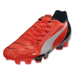 PUMA evoPOWER 4.2 FG Junior (Lava Blast/White/Total Eclipse)