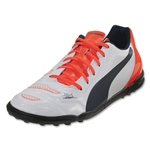 Puma evoPower 4.2 TT Junior (White/Lava Blast/Total Eclipse)