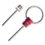 Ball Needle Key Ring (Red)