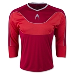 HO Soccer Impulse 3/4 Sleeve Goalkeeper Jersey (Cardinal)