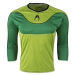 HO Soccer Impulse 3/4 Sleeve Goalkeeper Jersey (Lime)