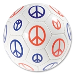 Peace Sign Soccer Ball