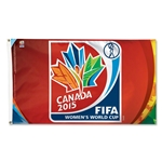 FIFA Women's World Cup Canada 2015(TM) 3x5 Logo Flag