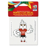 FIFA Women's World Cup Canada 2015(TM) 4x4 Mascot Decal