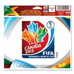 FIFA Women's World Cup Canada 2015(TM) 5x6 Logo Decal