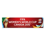 FIFA Women's World Cup Canada 2015(TM) 3x12 Bumper Sticker