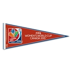 FIFA Women's World Cup Canada 2015(TM) 12x30 Logo Pennant