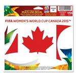 FIFA Women's World Cup Canada 2015(TM) Canada 5x6 Decal