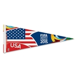 FIFA Women's World Cup Canada 2015(TM) 12x30 USA Pennant
