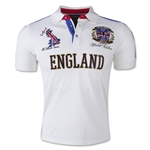 Absolute Rebellion England 2015 Polo (White)
