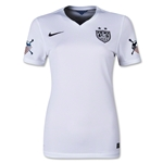 USWNT 2015 American Outlaws Women's Home Soccer Jersey