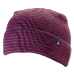 adidas Dock Fold Beanie (Navy/Red)