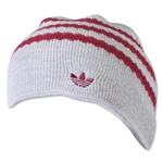 adidas Originals Kickoff Beanie (Gray/Red)