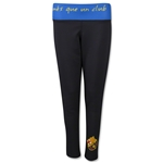 Barcelona Women's Leggings with Reversible Band