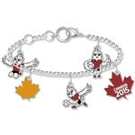 FIFA Women's World Cup 2015(TM) Mascot Charm Bracelet
