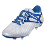 adidas Messi 15.3 FG (White/Prime Blue/Black)