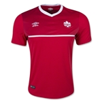 Canada 2015 Home Soccer Jersey