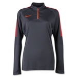 Nike Squad Women's Long Sleeve Midlayer Top (Slv/Or)