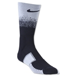 Nike Elite MatchFit Dipped in Black Crew Sock