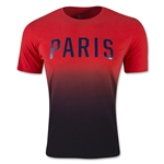 Paris Saint-Germain Match T-Shirt (Red/Black)