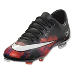 Nike Junior Mercurial Vapor X CR FG (Black/White/Total Crimson)
